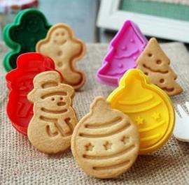 Albero di Natale Biscottino Gingerbread Pupazzo di neve e Pallina dell'albero