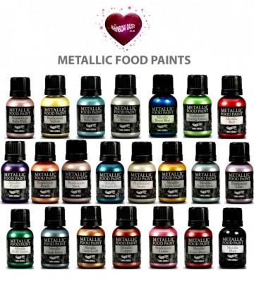 Beige Metallizzato. Colorante in gel. Rainbow Dust