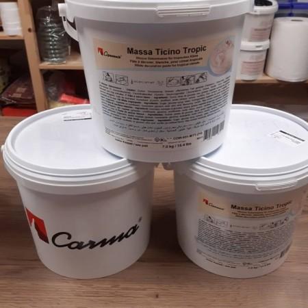 Pasta di zucchero Bianca Massa Ticino carma