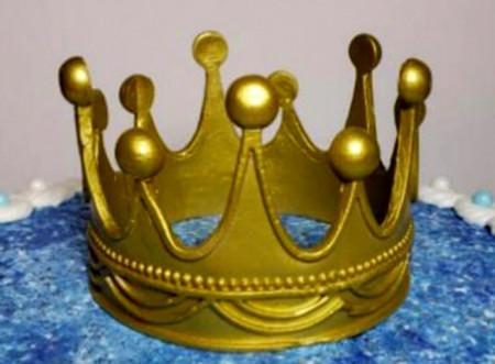 Stampo corona Principessa per il cake design