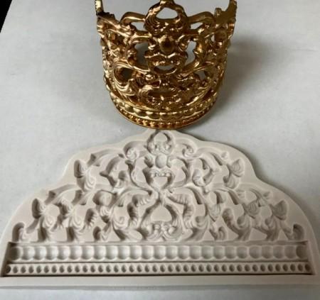 Corona Principessa stampo in silicone