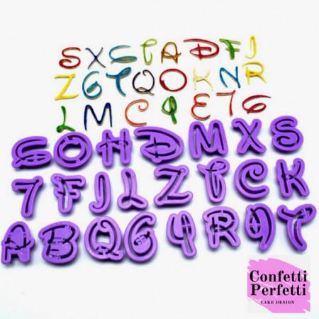 Disney Alfabeto. Lettere e Numeri Stampo