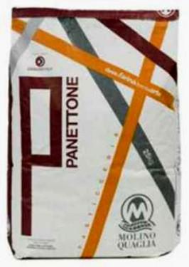 Farina Panettone con forza W 370-390 per Panettone, Pandoro, Colomba. Molino Quaglia. immagini