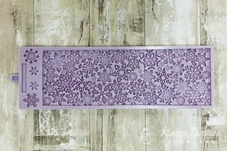 Fantastico Stampo silicone Fiocchi di neve originale Karen Davies