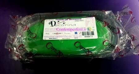 Gum Paste Verde per Fiori. Decorina Vip