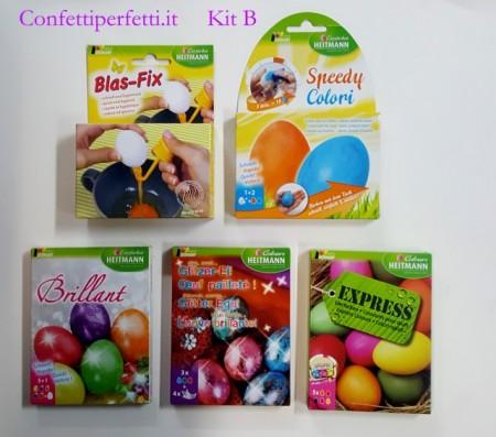 Kit B. Coloranti per Uova di Pasqua