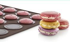 Macaron. 290 x 390 mm. Tappetino da forno in silicone. immagini