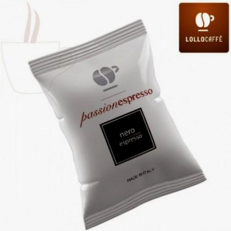 Nero. Lollo Caffè Espresso. Capsule Nespresso
