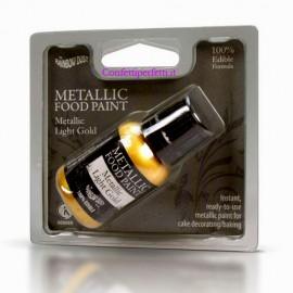 Oro Brillante Metallizzato Perlescente edibile 100%