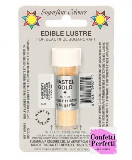 Colorante in polvere Oro pastello sugarflair