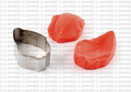 stampo silicone petalo tulipano per il cake design