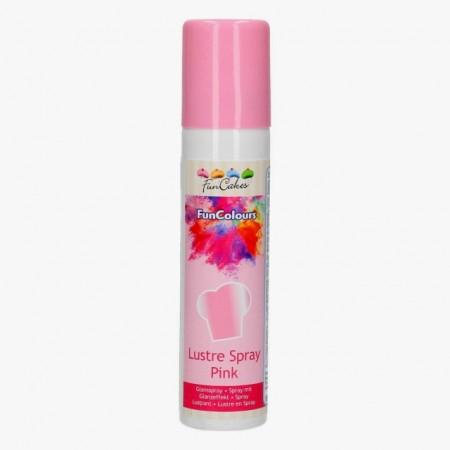 Rosa Metallizzato. Spray di 100 ml. Funcakes