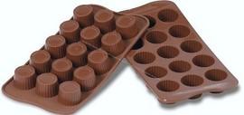 Stampo in silicone per realizzare 15 Praline.