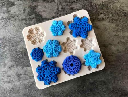 Stampo in silicone Fiocco di neve