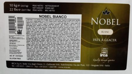 Cioccolato Bianco senza grassi. Irca Nobel. Qualità Superiore