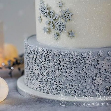 Fantastico Stampo Fiocchi di neve. Karen Davies