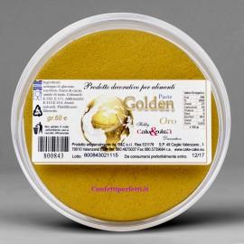Golden Paste la 1° Pasta di zucchero Perlescente al mondo x Modelling, in Oro Argento e Perla.Senza Glutine. immagini