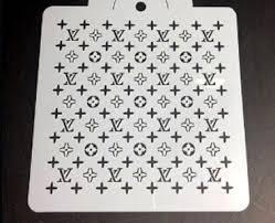 Louis Vuitton stencil
