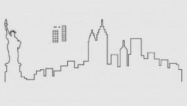 New York Città Statua della Libertà. Stampo