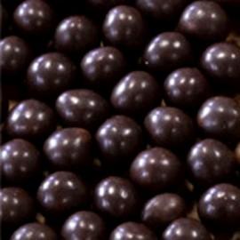 Perline di riso e frumento coperte di Cioccolato Fondente. CRUNCHY BEADS.