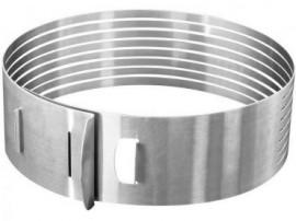 Anello Taglia torta cornice regolabile in acciaio