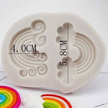 Arcobaleno. Stampo decorativo in silicone