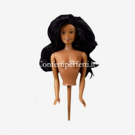 Bambola Barbie con Puntale Etnica. Wilton