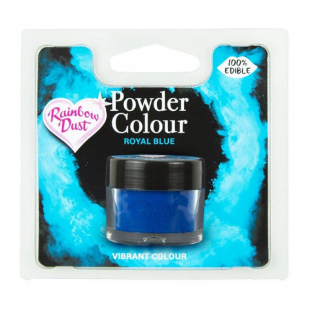 Blu Reale. Colorante in polvere Rainbow Dust