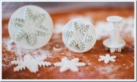 Fiocchi di neve Stampo
