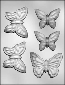 Stampo in policarbonato per farfalle di Cioccolata