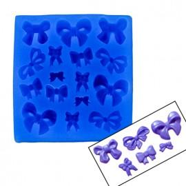 Fiocchi e Papillon Stampo in Silicone per la pasta di zucchero