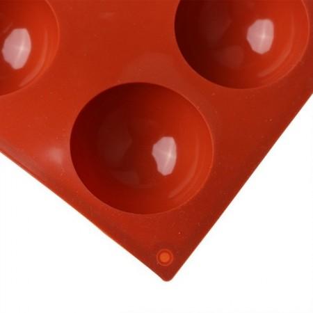 6 Semisfere  Stampo in silicone