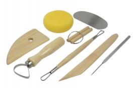 Bisturi in acciaio per modellare,Argilla, Creta,Ceramica,Fimo,pasta di zucchero