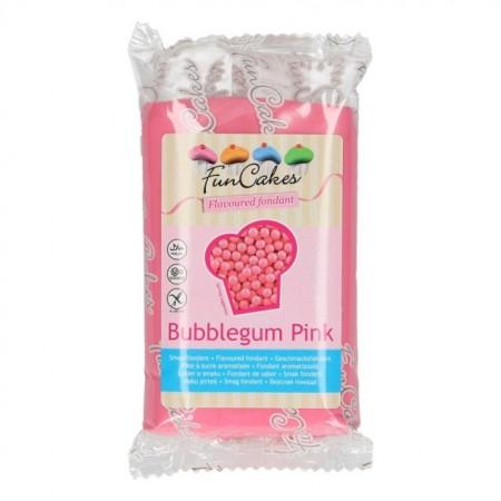 Aromatizzata Bubble Gum Fucsia. Pasta di zucchero FunCakes al gusto di Gomma da Masticare. 250 gr. immagini