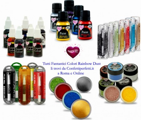 Coloranti in polvere  Rainbow Dust