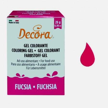 FUCSIA Gel 28 g. Nuovi Coloranti Alimentari. Decora.