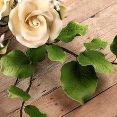 Gum Paste Verde per Fiori e foglie