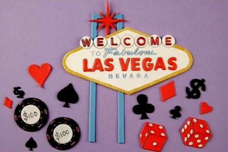 Las Vegas e Poker. Stampo Tagliapasta