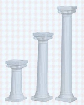 Set 4 Colonne greche Grecian Pillars.