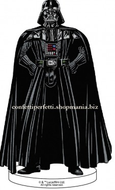Statuina in PVC  di DART FENER Star Wars. Supereroi.