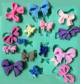 papillon e  Fiocchi. Stampo in Silicone
