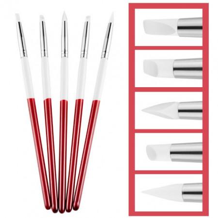 pennelli silicone di alta qualità