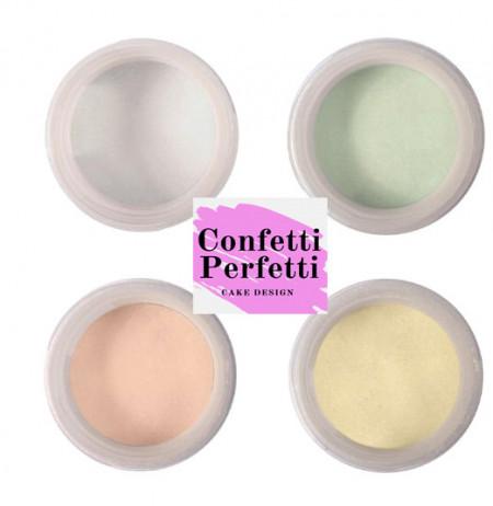 Coloranti in polvere Pastello Metallizzati. Splash Colour