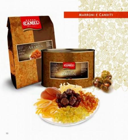 Filetti Arancia Canditi. Camel Prima scelta