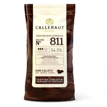 Fondente 53,8%. Cioccolato Callets Dark. Callebaut