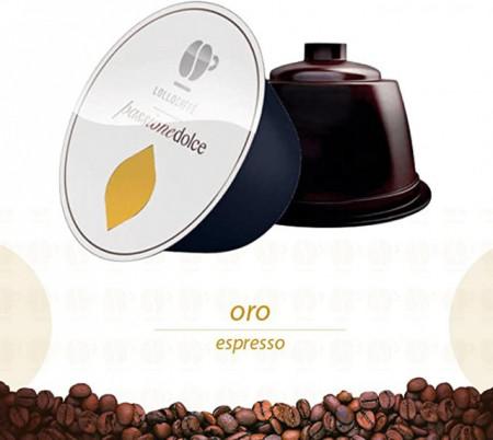 Oro. Lollo Caffè Espresso.Dolce Gusto