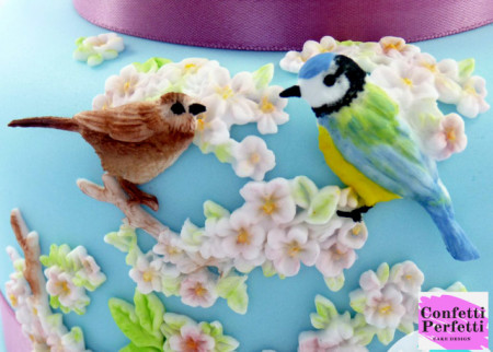 Pappagallo e Uccellini stampo