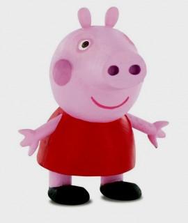 Peppa Pig. Statuina in PVC di Peppa Pig.