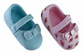 Stampo in silicone per realizzare 1 scarpa Bimbo/a