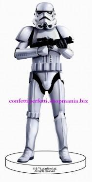 Statuina in PVC  di STORM TROOPER Star Wars. Supereroi.